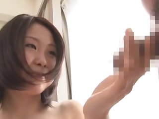 Exotic Japanese model Hinata Tsubaki in Amazing Couple, Teens JAV scene