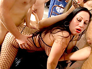Larissa Gold  Barbie Buster  Lolita  Sissiemaus in Group Sex With Austria´s Finest - Part 2 - FunMovies